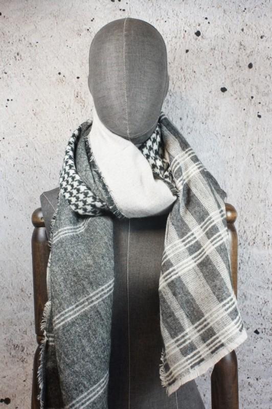 Sjaal geblokt
