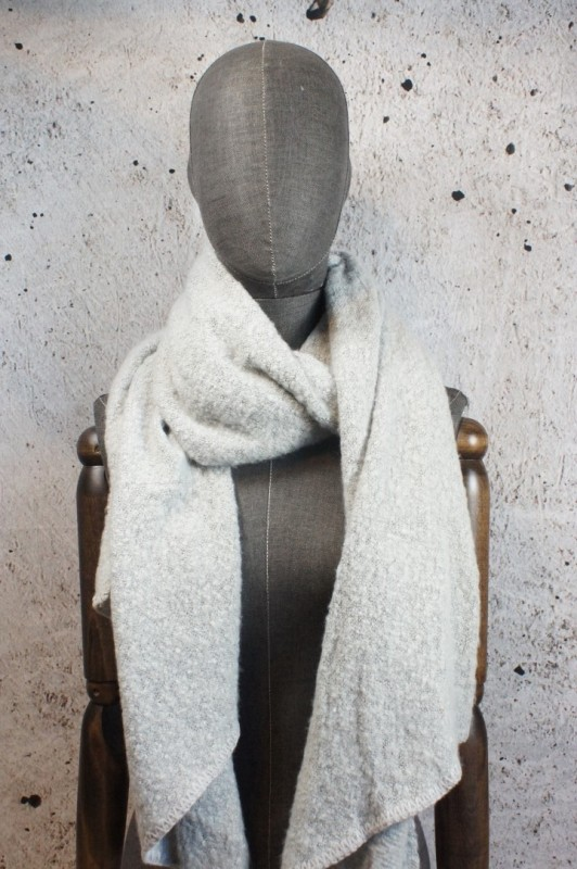 Sjaal licht grijs