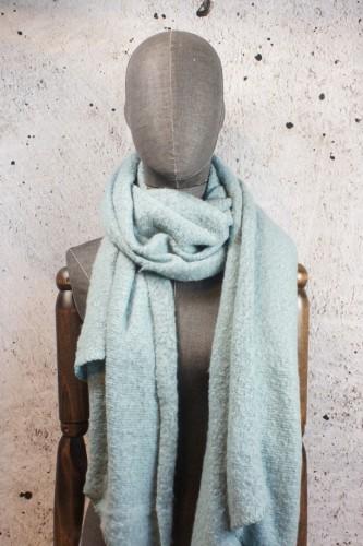 Sjaal lichtblauw
